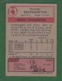 Footballer 1975-76 Red - Grey Back